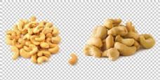 黄色腰果免抠png透明图层素材